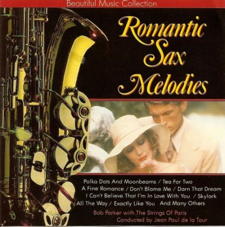 The Strings Of Paris Orchestra - Romantic Sax Melodies (1990)