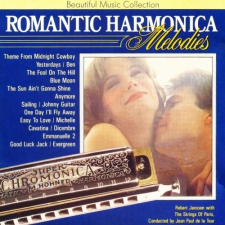 The Strings Of Paris Orchestra - Romantic Harmonica Melodies (1989)
