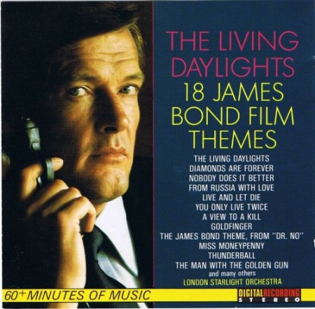 London Starlight Orchestra-The living daylights - 18 James Bond film themes (1987)