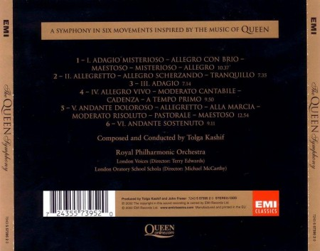 Tolga Kashif & The Royal Philharmonic Orchestra - The Queen Symphony (2002)