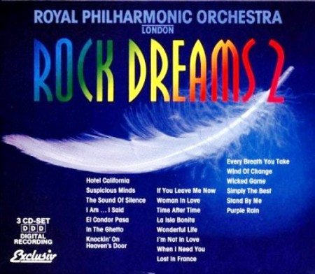The Royal Philharmonic Orchestra - Rock Dreams Vol. 2 (3 CD Box, 1994)