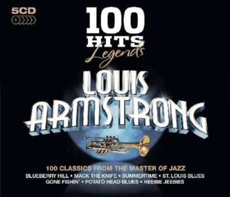Louis Armstrong - 100 Hits Legends. CD 2 (5 CD, 2010)