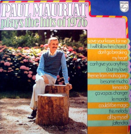 Paul Mauriat - Plays The Hits Of 1976 (1976)
