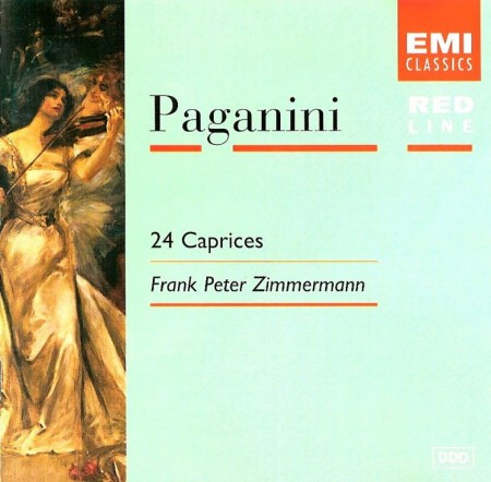 Frank Peter Zimmermann - Niccolo Paganini - 24 Caprices (1985) APE