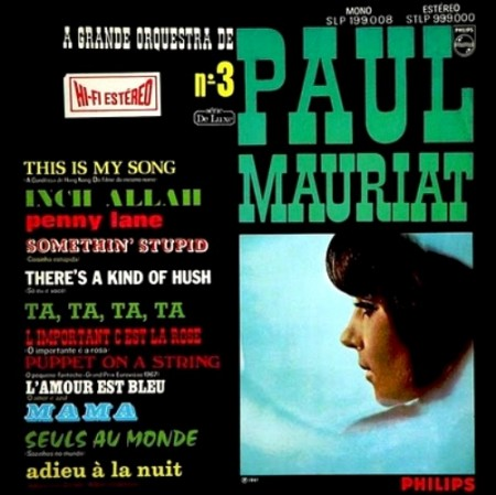 Paul Mauriat - Grande Orquestra De Paul Mauriat - No. 3 (1967)