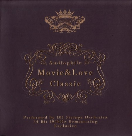 The 101 Strings Orchestra - Audiophile Movie And Love Classic (2 CD, 2011)