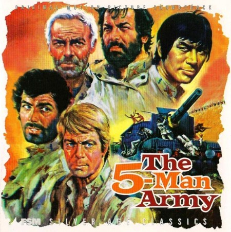 Ennio Morricone - The 5-Man Army (1969)