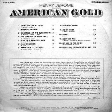 Henry Jerome - American Gold (1970)