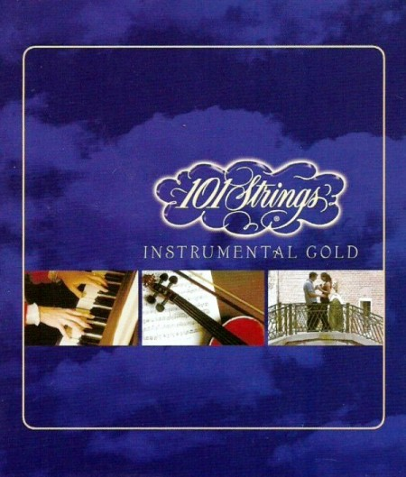 101 Strings Instrumental Gold Collector's Edition (3 CD, 2007) FLAC