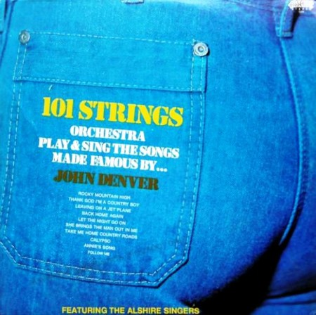 101 Strings Orchestra Plays John Denver (1976)