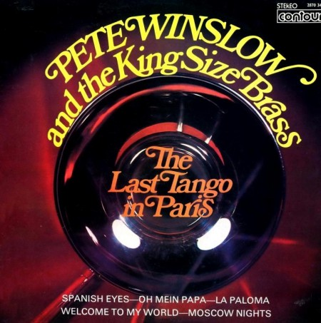 Pete Winslow And The King Size Brass - Last Tango In Paris (1973)