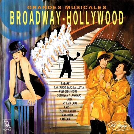 101 Strings Orchestra – Grandes Musicales Broadway-Hollywood (1993)
