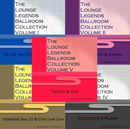 The Lounge Legends Ballroom Collection (5 CD, 2010)