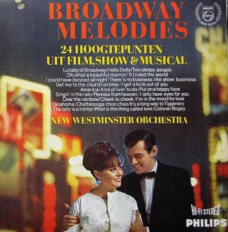 New Westminster Orchestra - Broadway Melodies (1967)
