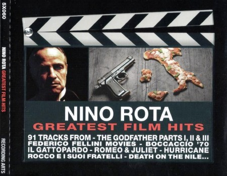 Nino Rota - Greatest Film Hits (5 CD Box Set, 2012)