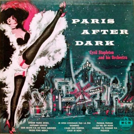 Cyril Stapleton And His Orchestra - Paris After Dark (LP, 1955)