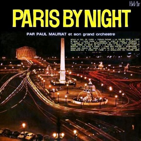 Paul Mauriat - Paris By Night (LP, 1961)