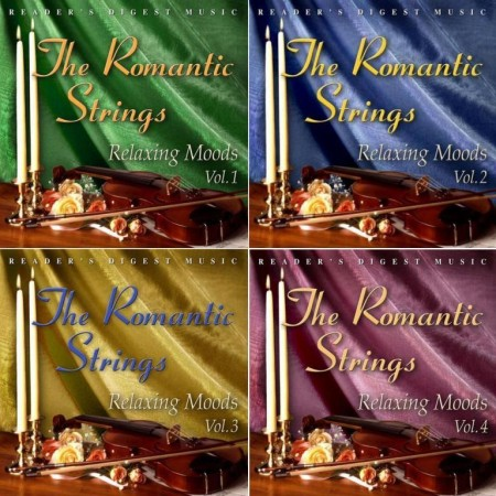 The Romantic Strings - Relaxing Moods Vol. 1-4 (2007)