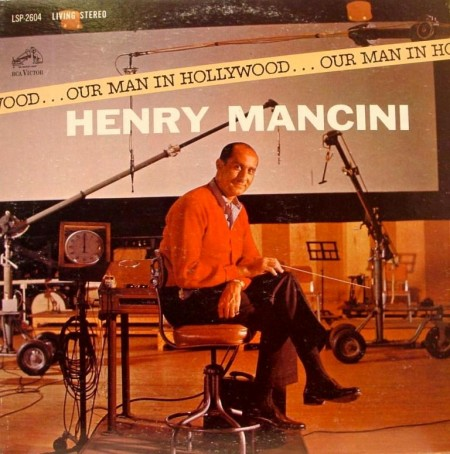 Henry Mancini - Our Man In Hollywood (LP, 1963)