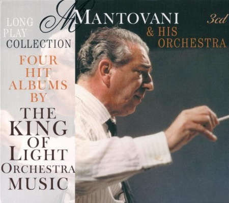 Mantovani & His Orchestra - Long Play Collection For Hits Albums By The King Of Light Orchestra Music (3 CD Box Set, 2010)