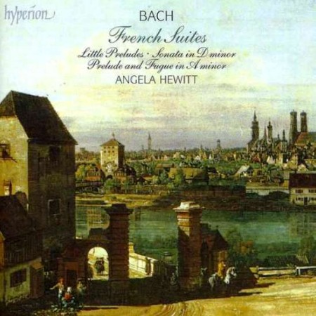 Angela Hewitt - Bach: French Suites (2 CD, 1995)