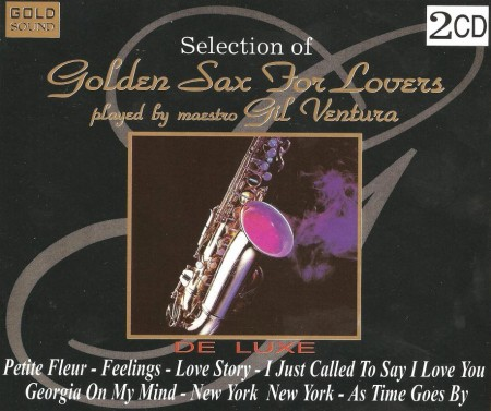 Gil Ventura - Selection Of Golden Sax For Lovers (2 CD, 1998)