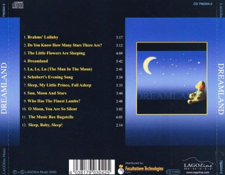 Matthias Hulsemann - Dreamland: Soft & Gentle Songs For Children (2003)