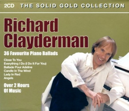 Richard Clayderman - The Solid Gold Collection (2 CD, 2005)