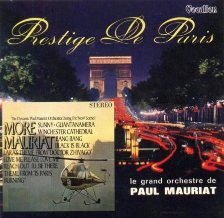 Paul Mauriat - More Mauriat & Prestige Of Paris (1966/2013 Remastered) FLAC