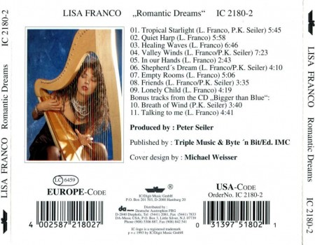 Lisa Franco - Romantic Dreams (1993)