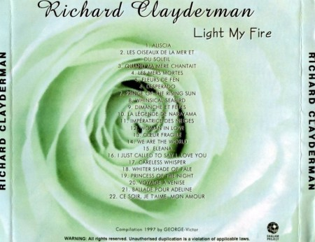 Richard Clayderman - Light My Fire (1997)