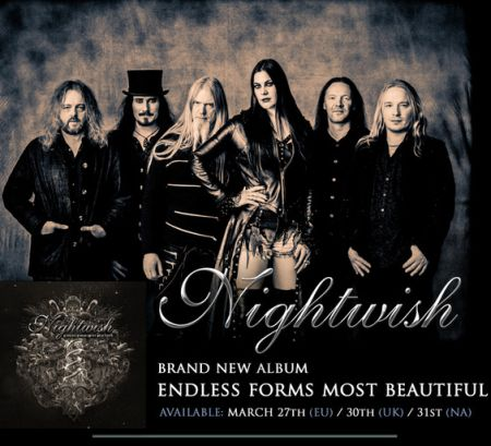 Nightwish - Endless Forms Most Beautiful (3CD Earbook Edition) [2015] MP3